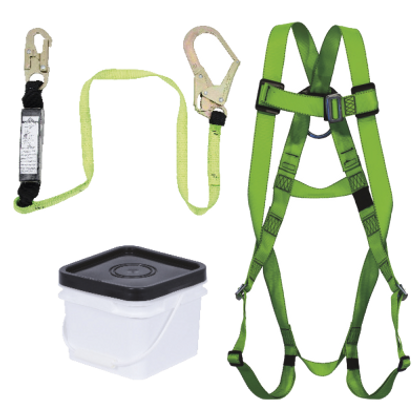 Compliance Fall Protection PIP Kit - SP Lanyard - Snap & Form Hooks | Peakworks