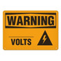 OSHA Safety Sign | Warning Volts  | Incom