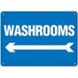 OSHA Safety Sign | Washroom <-------  | Incom