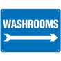 OSHA Safety Sign | Washroom ------->  | Incom
