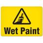 OSHA Safety Sign | Wet Paint  | Incom