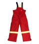 *BLOW OUT* RED FR INSULATED BIB | FIREWALL