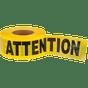 "Barricade Warning Tape ""ATTENTION"" | Pioneer"