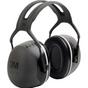 Peltor™ X Series Earmuffs, Headband, 31 NRR dB | 3M