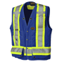 Hi-Vis Surveyor Safety Vest | CSA, Class 2, 150D | Pioneer
