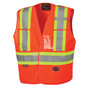 Hi-Vis Adjustable Tear-Away Safety Vest | CSA, Class 2 | Pioneer