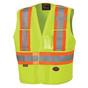 Hi-Vis Adjustable Tear-Away Safety Vest | CSA, Class 2 | Pioneer