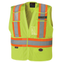 Hi-Vis Polyester Mesh Tear-Away Safety Vest | CSA, Class 1 & 2 | Pioneer