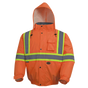 Hi-Vis Waterproof Winter Insulated Safety Bomber - CSA, Class 2 - Pioneer - 5032