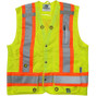 Open Road Surveyor Safety Vest - CSA, Class 2 - Viking  6165G