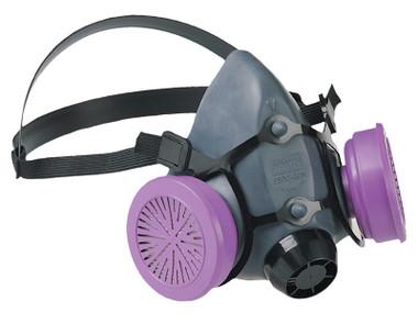 By Respirator Honeywell North Series Mask Half Low-maintenance 5500