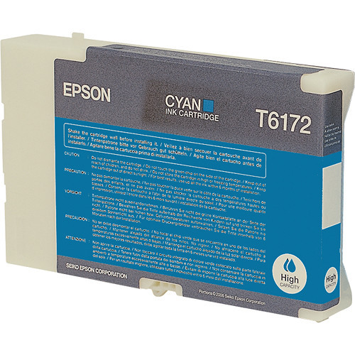 Epson B-510DN Cyan Cartridge - High Yield