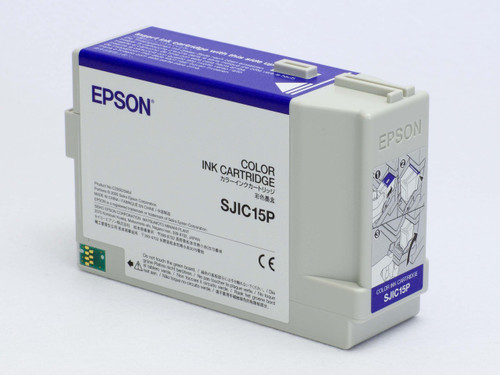 Epson TM-C3400 Color Pigment Ink Cartridge| SJIC15P