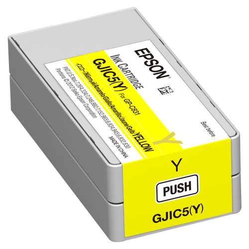 Epson GP-C831 Yellow Pigment Ink Cartridge|GJIC5