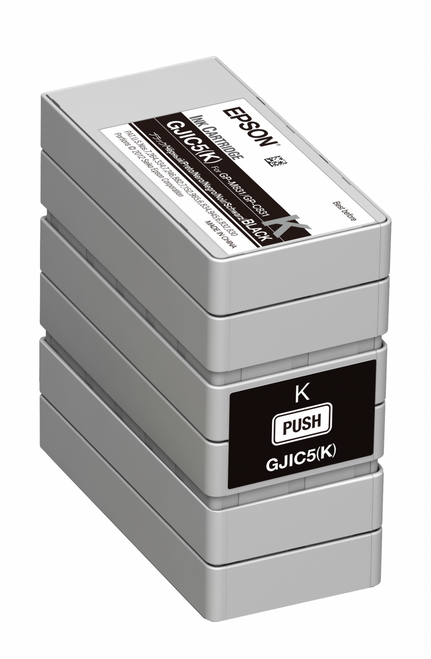 Epson GP-C381 Black Pigment Ink Cartridge|GJIC5