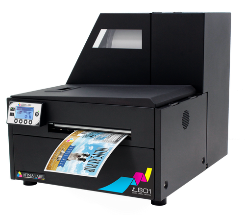 finia L801 Colour Label Printer featuring Memjet Technology | Dye Inkjet