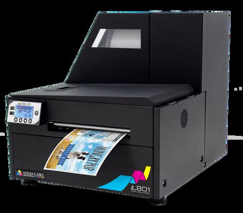 finia L801 Colour Label Printer featuring Memjet Technology   Dye Inkjet