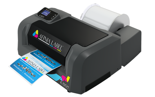 Afinia L501 Label Printer Duo Ink Pigment and Dye Bundle