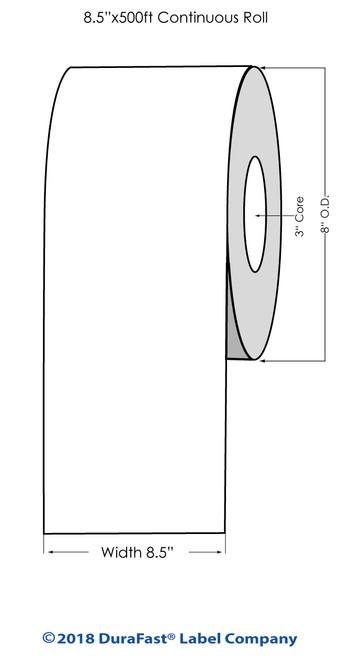"iColor 700 Estate #9 Wine Paper #1 8.5"" x 500Ft Roll (684001)"