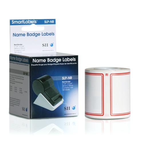 Seiko SLP620/650 2.125 x 2.75 White Name Badges SLP-NR