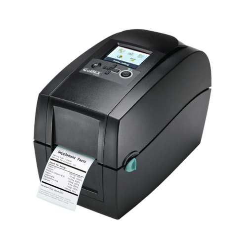 "DTT230i 2"" Thermal Transfer Barcode Label Maker with Color Display, 300 dpi, 5 ips (99669)"