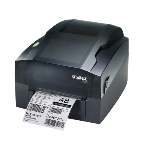 "Godex G300 4"" Thermal Transfer Barcode Label Maker, 203 dpi, 4 ips"