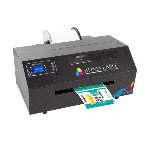 AFINIA L502 Colour Printer - Pigment Inkjet for GHS BS5609 Labels