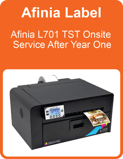 Afinia L701 TST Onsite Service After Year One (AL-32652)
