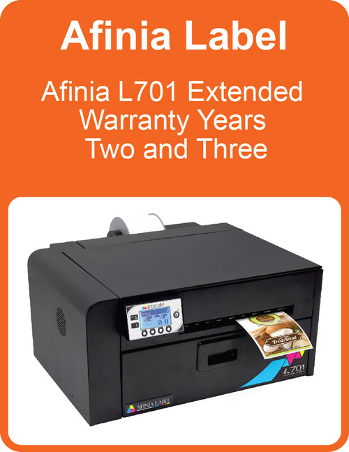 Afinia L701 Extended Warranty Years Two and Three (AL-32561)