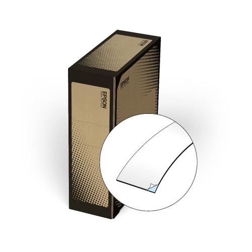 """Epson/K-Sun Z-Series BULK 36MM 1.5"""" X 147.6' BLACK ON WHITE VINYL TAPE 45M"""
