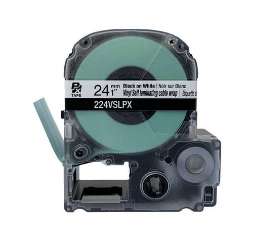 "Epson/K-SUN 224VSLPX  PX Label Tape 1""/24MM Self Laminated Tape"