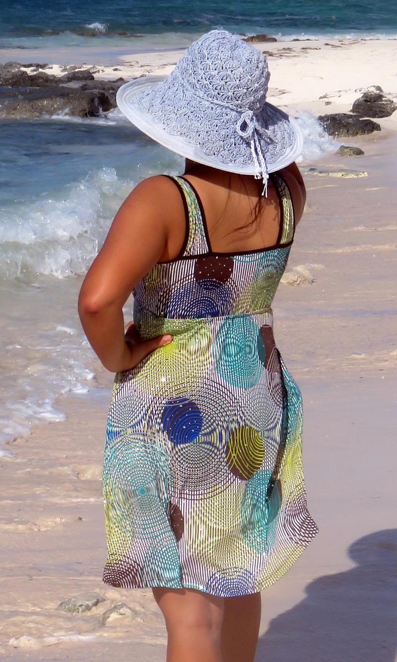 Green Infinity Sparkle Short Wrap Dress