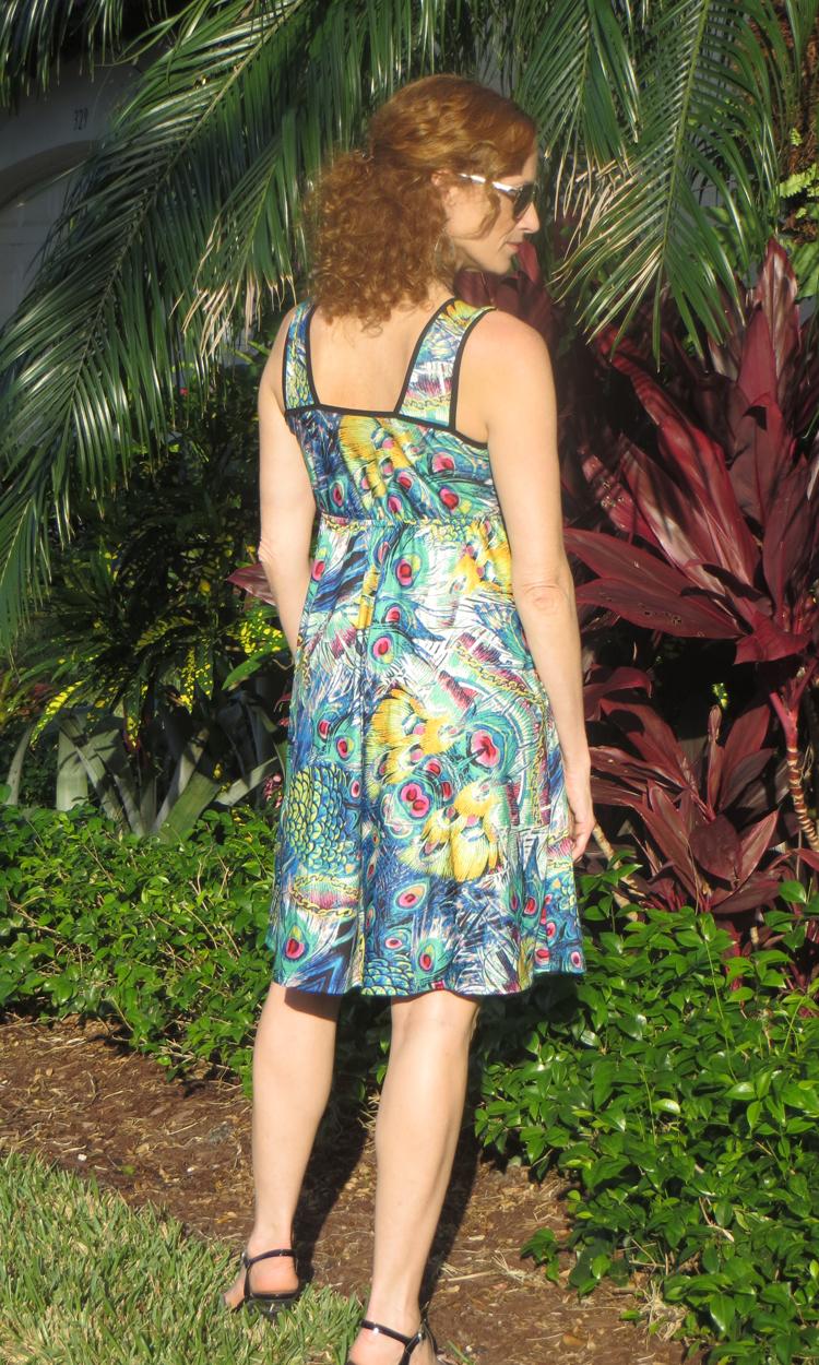 Sri Lanka Short Wrap Dress