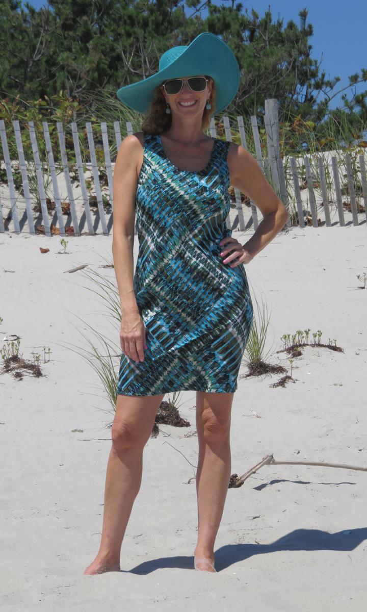 Malachite Mod Tank Dress