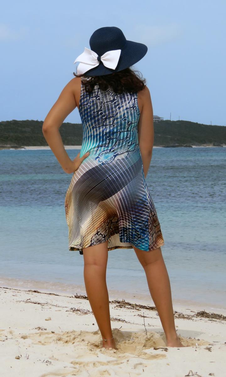Sea Snake Short Twist Dress