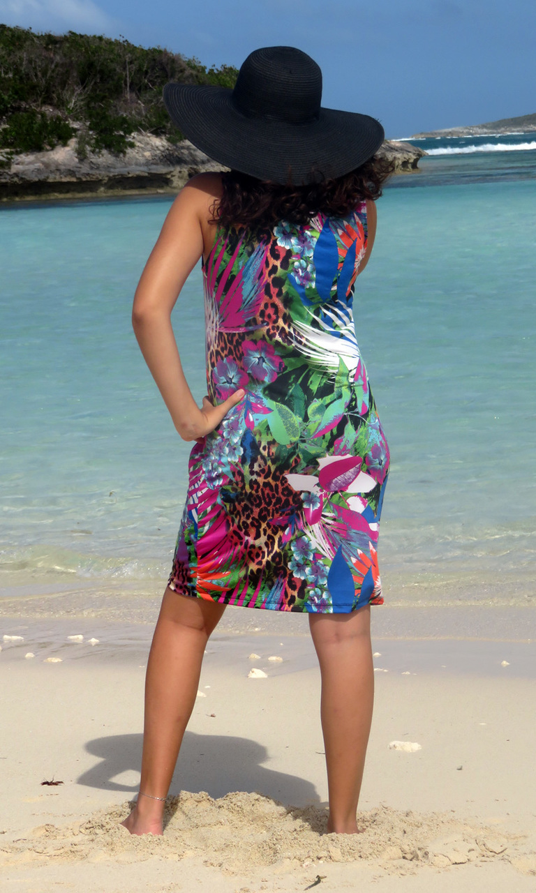 Rain Forest Chic Tank Dress-ONLY SIZE SMALL LEFT!!