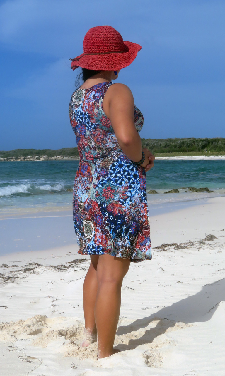 Bohemian Mod Short Twist Dress