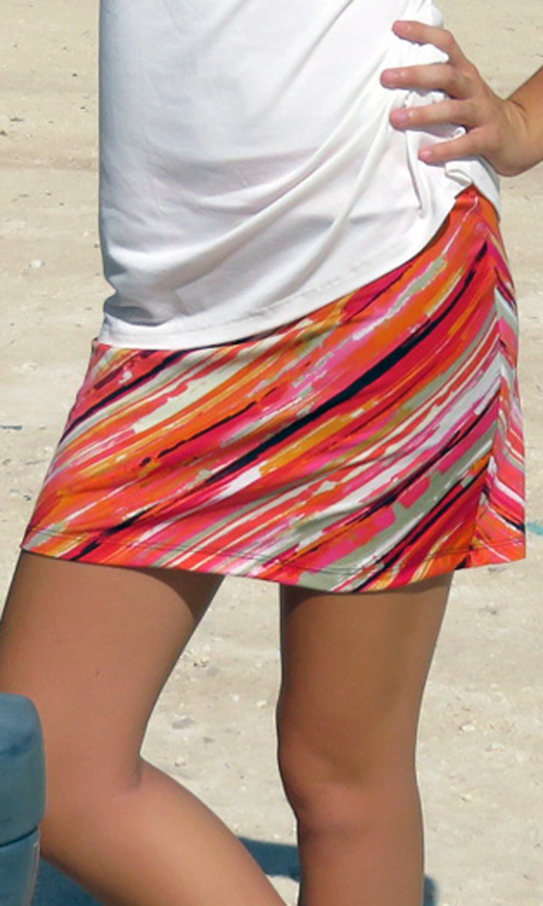Tangerine Dreams Skort