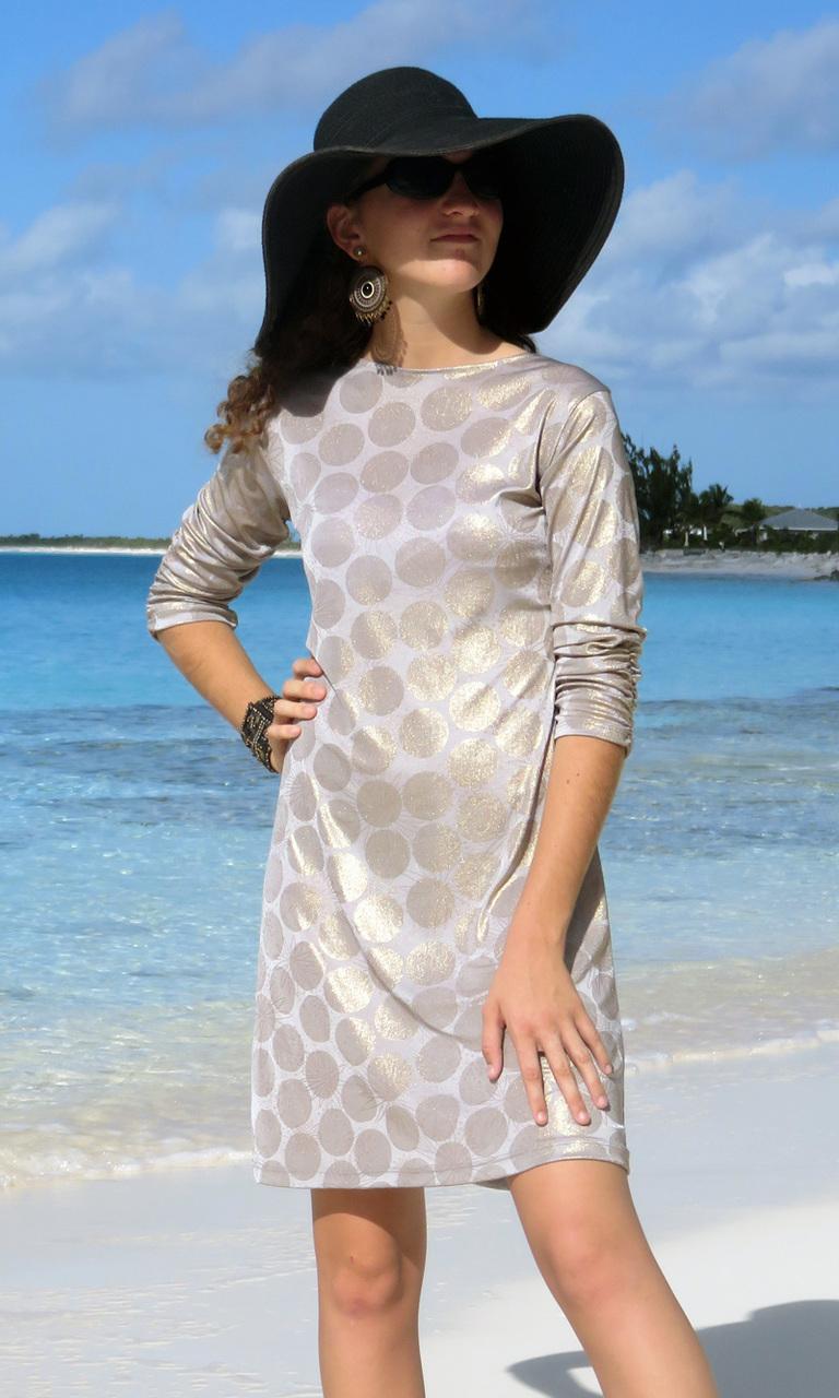 Gold Dot Julie Dress