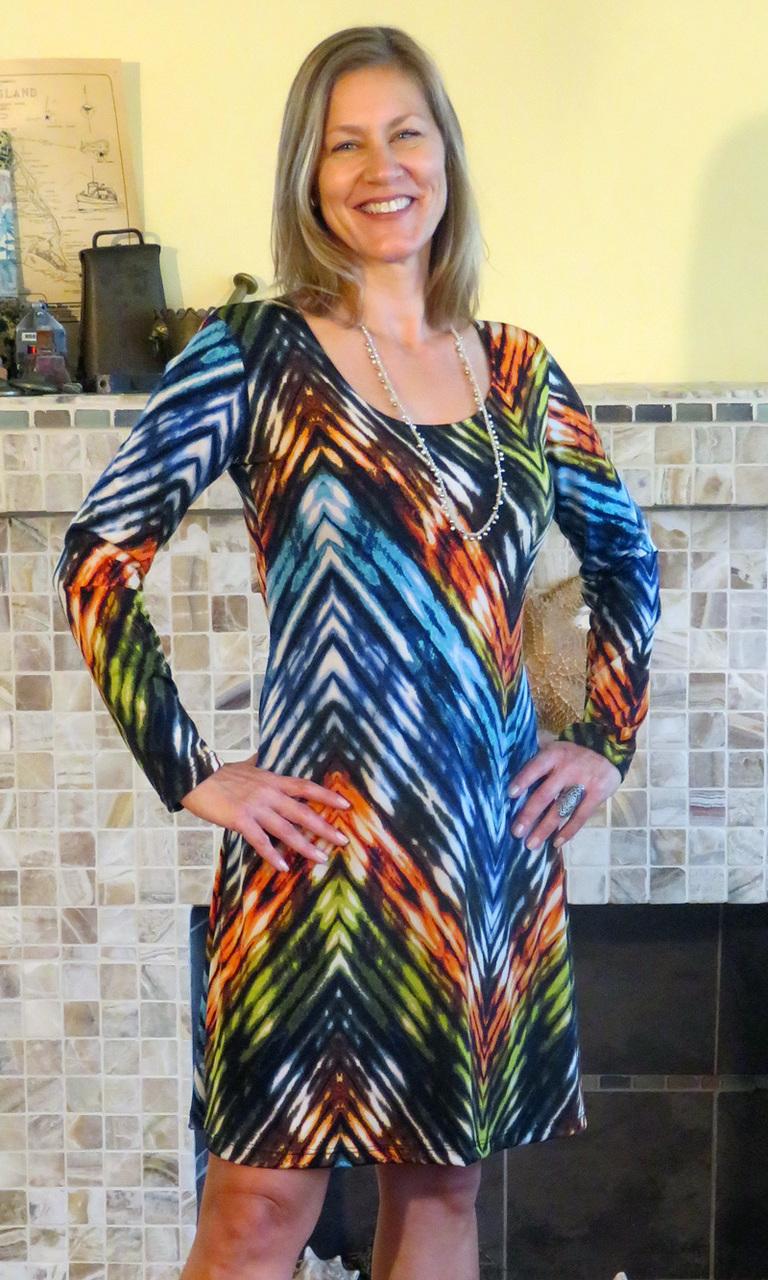 Jazzy Trapeze Dress