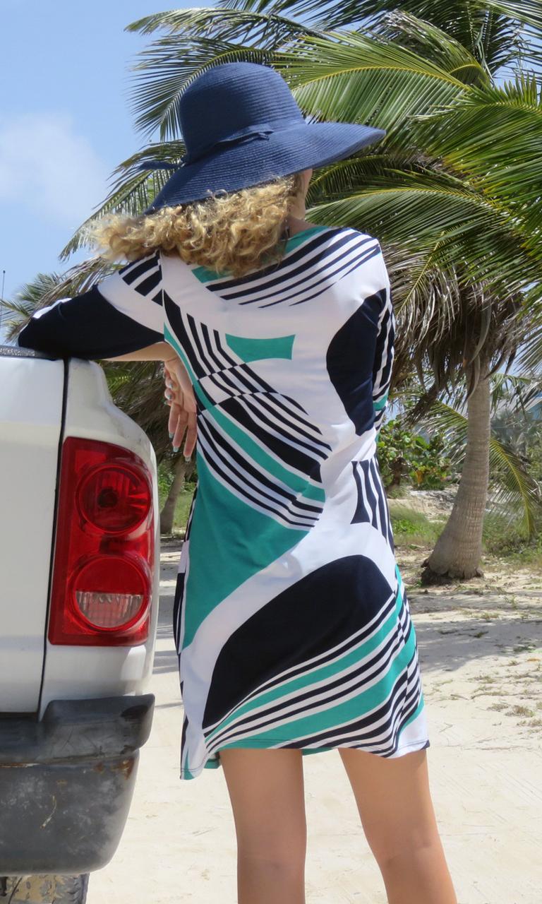Kelly 3/4 Sleeve Dress