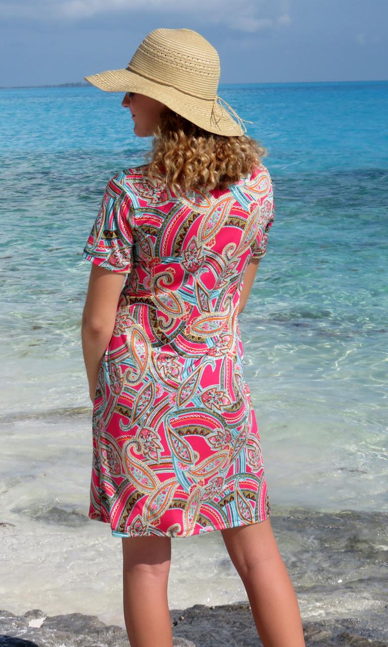 Fuchsia Vogue Venus Dress
