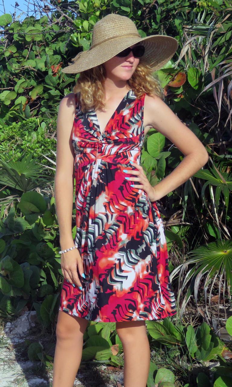 Crimson & Clover Short Twist Dress