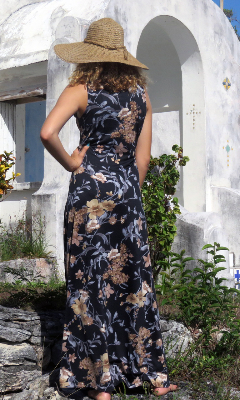 Silver Willow Long Diane Dress