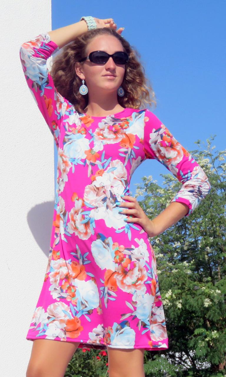 Wild Rose Julie Dress
