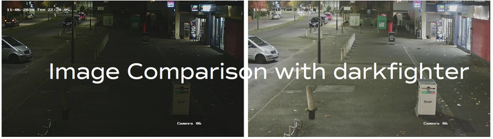 Hikvision's ZLine TVi Series exclusive to CCTVDEPOT night images captured!