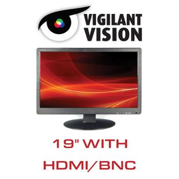 """19"""" CCTV Monitor LED With HDMI/VGA/BNC"""