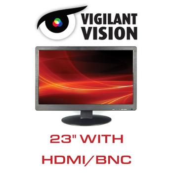 """23"""" CCTV Monitor LED With HDMI/VGA/BNC"""