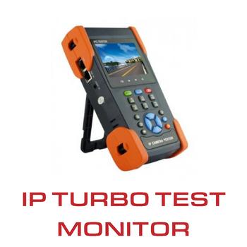 IP test monitor with WIFI, PoE 24w, DC12V 1 AUDIO output