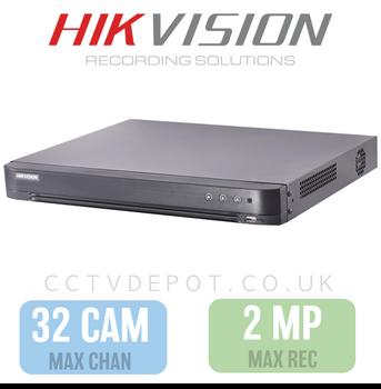 Hikvision HD TVI 32 channel Digital Video Recorder upto 2MP Recording